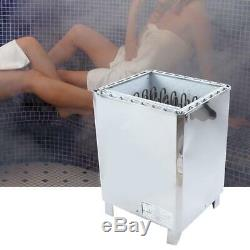 10.5/12/15/18KWElectric Stainless Steel Steam Sauna Heater Stove External Contro