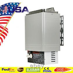 120V Sauna Heater Stove 2KW Dry Sauna Stove W Internal Control Stainless Steel