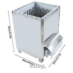 18KW Electric Wet & Dry Stainless Steel Sauna Heater Stove External Control 380V