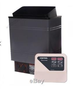 220V 3 Kw Wet / Dry Electric Sauna Heater Stove External Control al