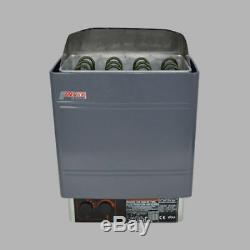 220V 9KW New External Digital Controller Wet&Dry Galvanizing Sauna Heater Stove