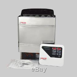 220V 9KW Sauna Heater Stove with Digital Controller Sauna Saunaofen Wet and Dry