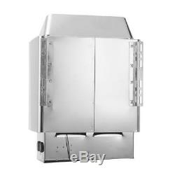 220V Single Phase 3KW Sauna Electric Heater Stove Wet & Dry Stainless Heavy Duty