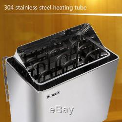 220V380V 9KW Sauna Heater, Sauna Stove, Wet&Dry, External Digital Controller New