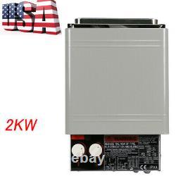 2KW 120V Sauna Heater Stove Dry Sauna Stove Internal Controller Household Heater