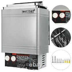 2KW 120V Sauna Heater Stove Dry Sauna Stove Stainless Steel Internal Control