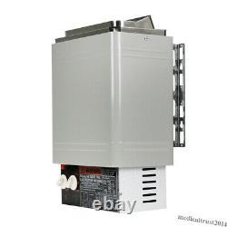 2KW 120V Sauna Heater Stove Dry Steam Bath Internal Controller Home Hotel SPA