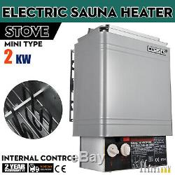 2KW Wet&Dry Sauna Heater Stove Internal Control Single Phase Cozy Durable PRO