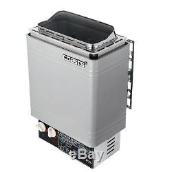 2KW Wet&Dry Sauna Heater Stove Internal Control Time Adjustable Spa Durable