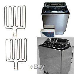 2Pcs Warming Element for Sauna Heater SPA Sauna Stove Unit Compatible with SCA