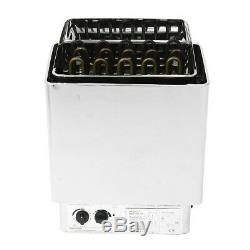 3-9KW Electric Sauna Spa Heater Stove Wet Dry Stainless Steel Internal Control