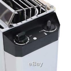 3KW Electric Sauna Heater Heating Sauna Stove Stainless Steel Internal Control