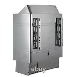 3KW Sauna Heater Stove Sauna Stove Built-in Control Wall Mounted Stainless Steel