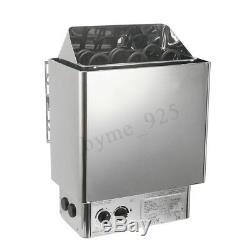3KW Sauna Heater Stove Wet Dry Stainless Steel Internal Control Steam Machines