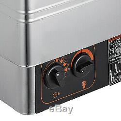 3KW Stainless Steel Sauna Heater Stove Wet & Dry Internal Control Spa