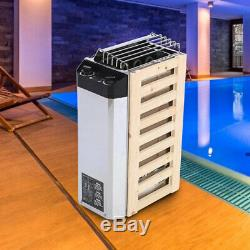 3KW Stainless Steel Sauna Room Heater Heating Stove Spa With Internal Controller