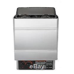 3KW Wet&Dry Sauna Heater Stove Internal Control Anti-rust Time Adjustable