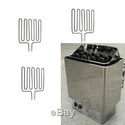 3pcs 3000W Sauna Unit Heating Element for SCA Sauna Heater Spa Stove Spas