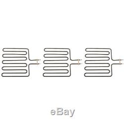 3x Stainless 2670W Heating Element for SCA Sauna Heater Spa Sauna Stove Hot Tube
