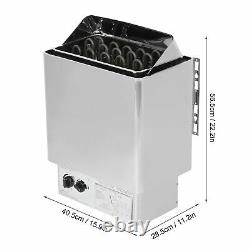 4.5 -9 KW Sauna Heater Stove Stainless Steel with Internal Controller Dry Sauna