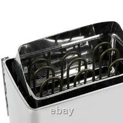 4.5KW 220V Stainless Steel Bathroom Heating Sauna Steam Engine Stove Heater GD