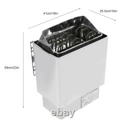 4.5KW 220V Stainless Steel Bathroom Heating Sauna Steam Engine Stove Heater With
