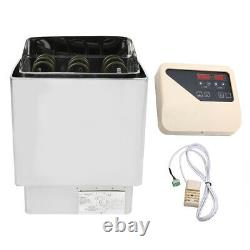 4.5KW Bathroom Heating Sauna Steam Engine Stove Heater With Controller Household