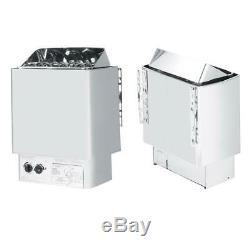 4.5KW Dry Sauna Stove Heater External Controller Spa Bathroom Sauna