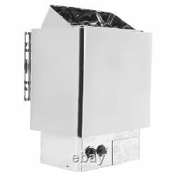 4.5KW Internal Control Bathroom Heating Sauna Steam Engine Stove Heater 220380
