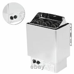 4.5KWith9.5KW Stainless Steel Sauna Stove Heater Steaming Bathroom SPA 220-380V