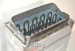 4.5kw Stainless Steel Turku Wet&dry Sauna Heater Stove External Digital Control