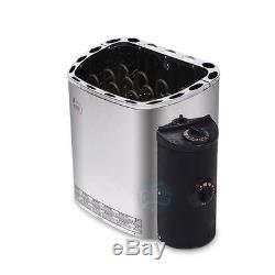 400V 4.5KW Sauna SPA Heater Stove Dry steam oven sauna equipment Steamer NEW