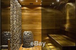 6-18 kW Design Electric Sauna Heater HUUM Hive Steam Sauna Stove HEATER ONLY