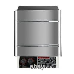 6000W 240V/25A Electric Sauna Heater Stove Dry Stainless Steel Safty Control Spa