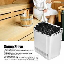 6000W Sauna Heater Stove External Control Sauna Spa Steam Machine Home Hotel