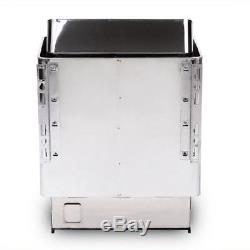 6KW 110V/220V Wet & Dry Sauna Heater Stove Stainless Steel With Controller for Spa