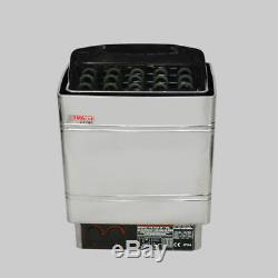 6KW 220V Electric Wet&Dry Stainless Steel Sauna Heater Stove External Control
