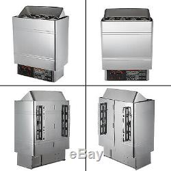 6KW 220V Electric Wet & Dry Stainless Steel Sauna Heater Stove Internal Control