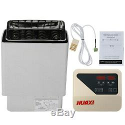 6KW 220V Pro 3 Person Wet&Dry Sauna Heater Stove SPA External Digital Controller