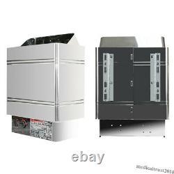 6KW 240V Sauna Heater Stove Dry Steam Bath Machine Internal Controller Home SPA