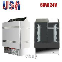 6KW 240V Sauna Heater Stove Dry Steam Bath Sauna Machine Internal Controller FDA