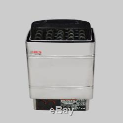 6KW Heater Stove 220V Electric Stainless Steel Sauna Wet & Dry