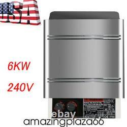 6KW Sauna Heater Stove Dry Sauna Stove SPA Stainless Steel Internal Controller