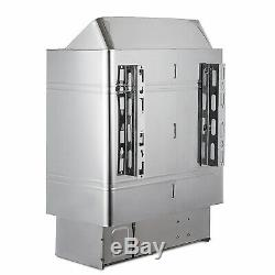 6KW Wet&Dry Sauna Heater Stove Internal Control Spa Control Knobs High Efficient