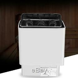 6KWith9KW 220V-380V Electric Sauna Heater Stove Stainless Steel External Control