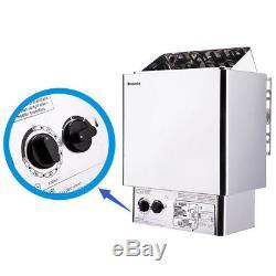 6kw 220v/380v Stainless Steel Wet&dry Sauna Heater Stove New