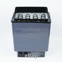 8KW Electric Sauna Heater Stove Wet Dry Aluminum Paint Internal Control Spa