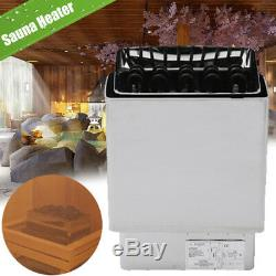8KW Wet & Dry Sauna Heater Stove Stainless Steel For SPA + External Controler