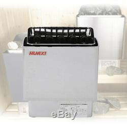 9KW 220V Electric Sauna Heater Stove Wet Dry Stainless Steel Home Hotel Spa HOT