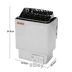 9KW 220V Electric Sauna Heater Stove Wet Heating Dry Stainless Steel Spa Control